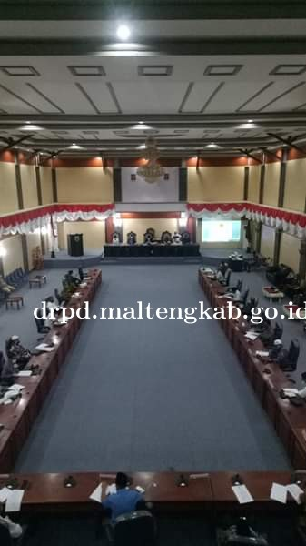 DPRD Malteng Gelar Paripurna Masa Sidang II 2020