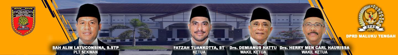 Pimpinan DPRD Kabupaten Maluku Tengah 2019-2024
